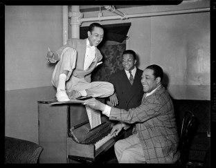 "Charles Teenie Harris, Charles ""Honi"" Coles, Billy Strayhorn, Duke Ellington"