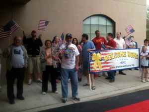 Honor Flight Philly First Solo Mission Lands