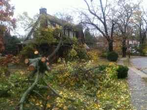 Hurricane Sandy Springfield Photo Essay 1:59 p.m. Oct. 30, 2012