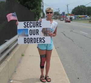 Border Crisis Rally At I-95