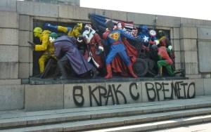 Bulgaria Disses Russia Comic Style