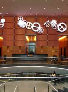 Mary Bauer Comcast Insults Now -- Comcast Building Lobby in Philadelphia