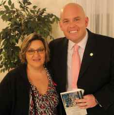 Lisa Esler with Chris Stigall