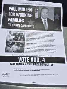 Paul Mulllen Flyer Exposes Agenda