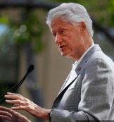 Frail Bill Clinton
