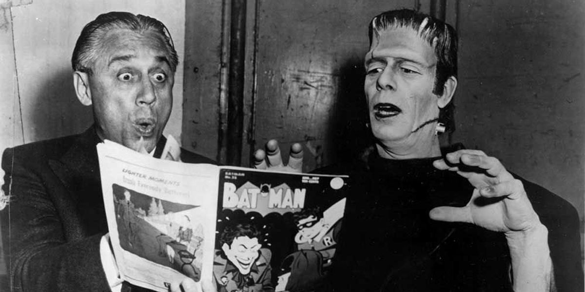 We've got the Frankenstein monster reading our blog! Why not come join him?