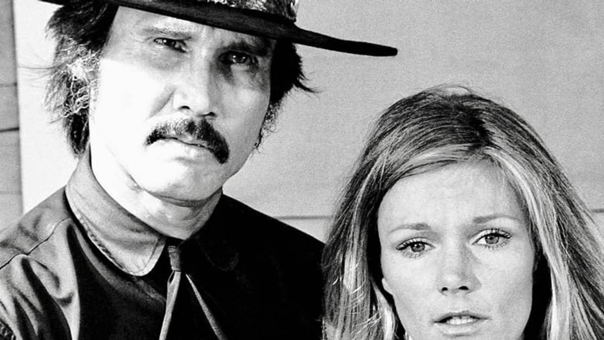 A shot of Henry Silva and Yvette Mimeux from 1971's Made for TV Movie, Black Noon