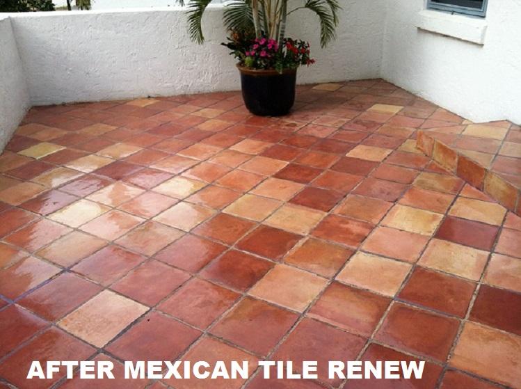 mexican tile renew strip clean
