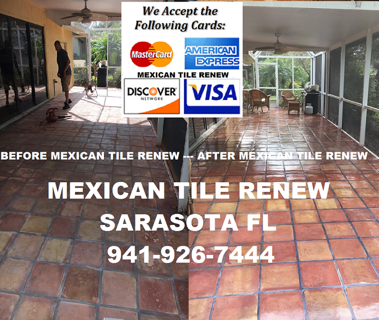 mexican tile renew project on long boat
