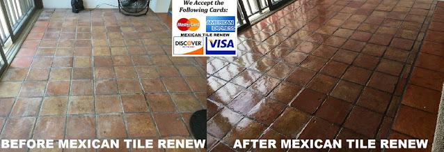 been refinishing saltillo tile floors