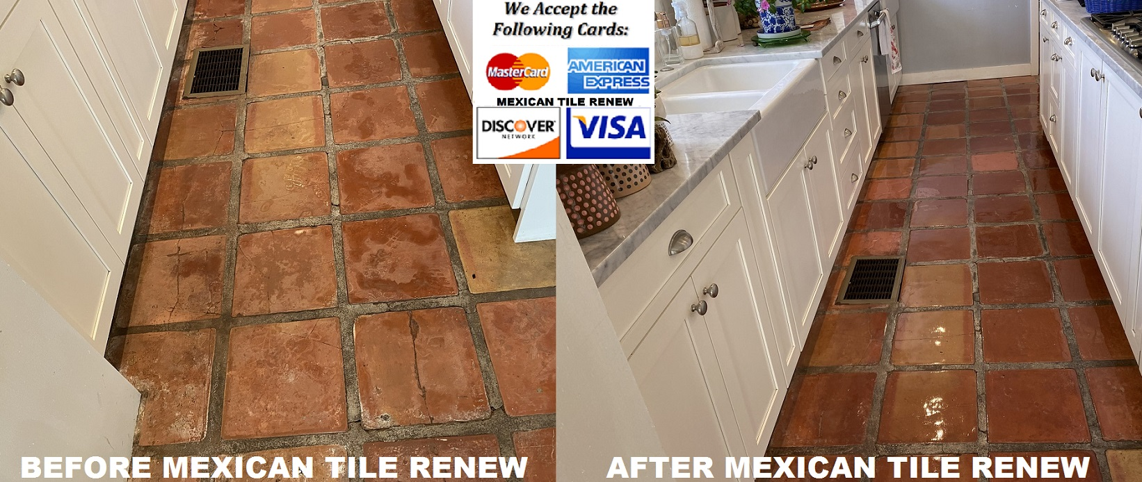 mexican saltillo tile cleaning