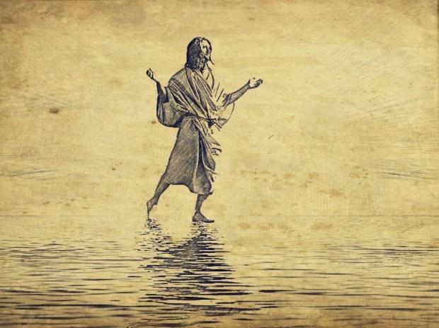 Walks on water