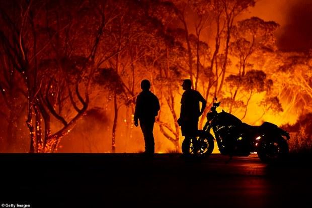 Down Under burns