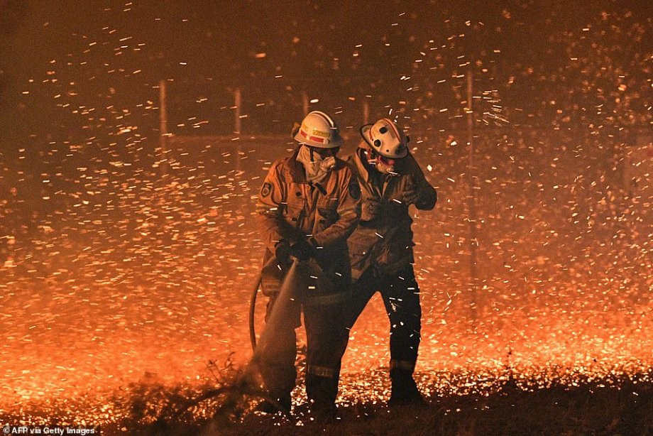 Worst bushfires in Oz history