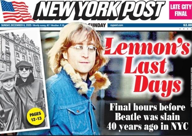 LENNON'S LAST DAY