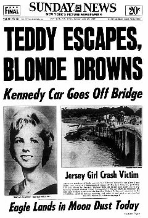 TEDDY ESCAPES, BLONDE DROWNS