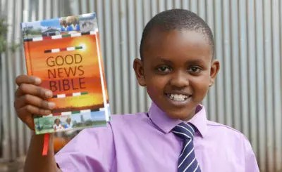 Childcare Worldwide Provides Bibles to Sponsored Kids in Uganda
