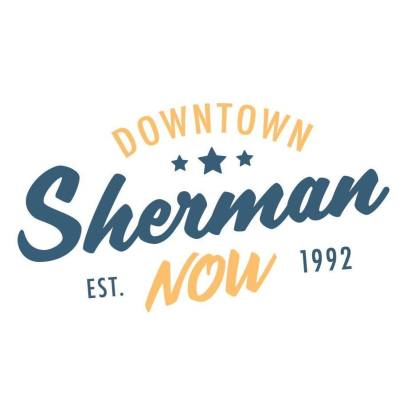 downtown sherman now logo
