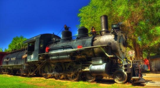 Slim Princess Steam Locomotive