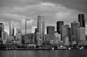 Downtown Seattle from the water