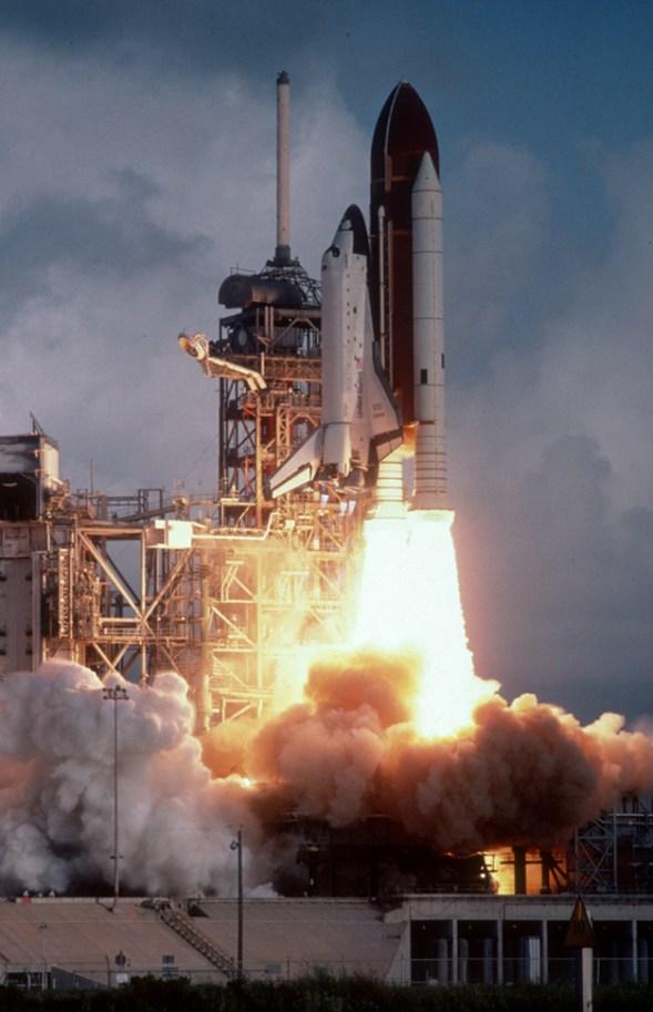 STS-6 in April of 1983©Bill Pekala
