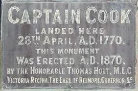 Captain Cooks Landing Site