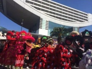 Lion Dance, Hong Kong