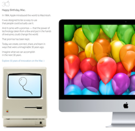 30 Years of Macintosh