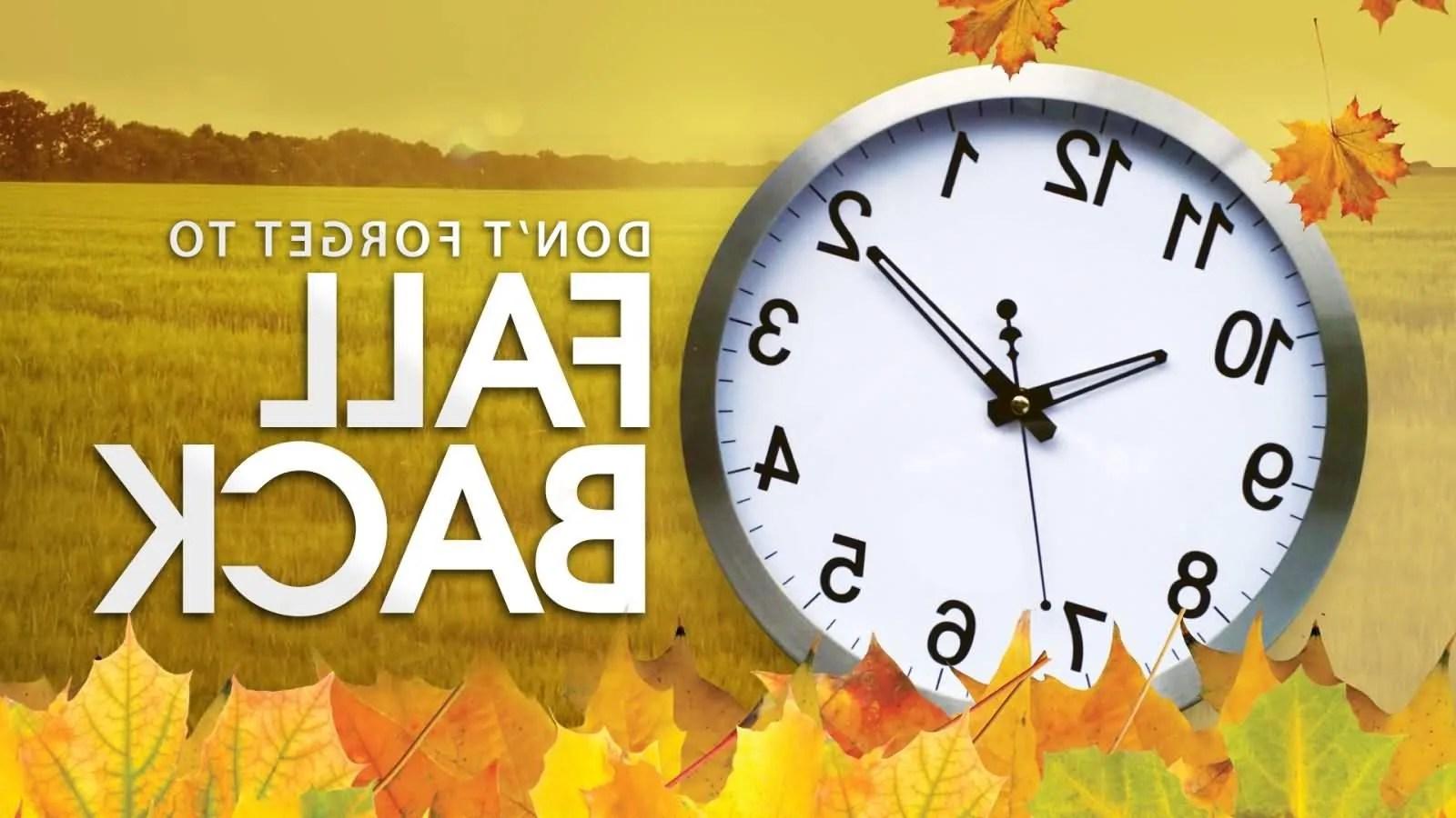 History of Daylight Saving Time – Fall Back