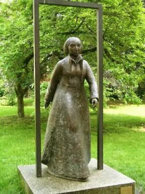 Katie's Statue