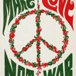 Make Love Not War poster 1960s