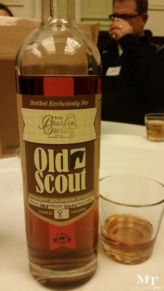 January 2015 Bourbon Society Old Scout