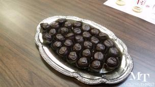 Chocolate Bourbon Balls. Who could say no?