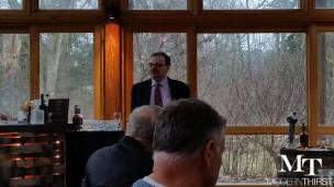 Bourbon Historian and Author Michael Veach spoke about the History of I.W. Harper Bourbon.
