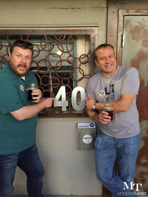 Bill & Matt turned 40?!?