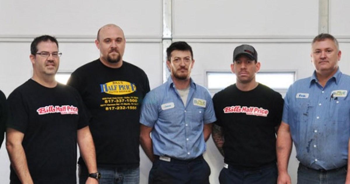Bills Half Price Auto Repair Serving Fort Worth Texas