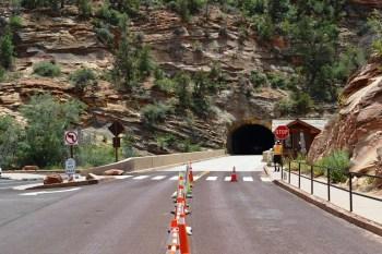 Tunnel Guard Gate near Trailhead