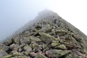 The Knife Edge big pile of rocks
