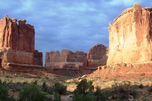 The backside of Park Avenue, Arches NP