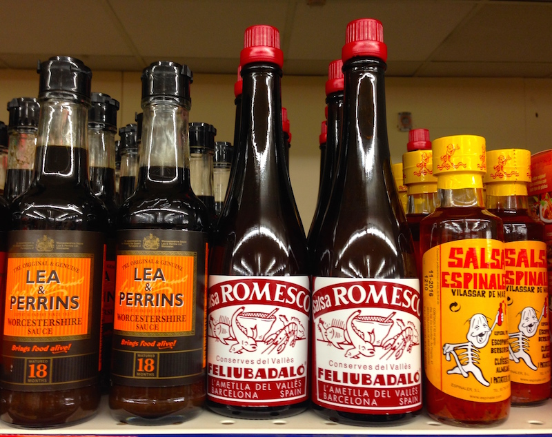 Tracklements & sauces in Barcelona
