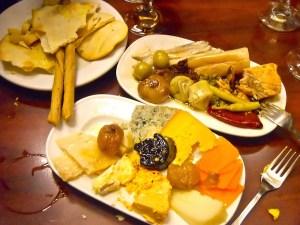 Plate of food at Quimet i Quimet, Poble Sec, Barcelona