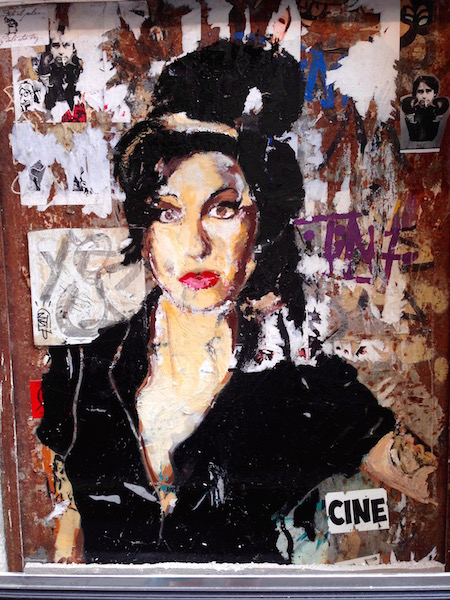 Amy Winehouse III, Barcelona by Bill Sinclair