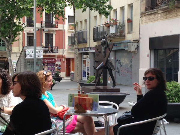 Plaça del Diamant, Gràcia, Barcelona, from Café Diamant