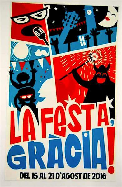 Festes de Gràcia 2016, poster