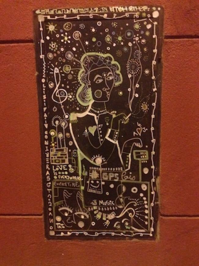 Love Everywhere graffiti, Barcelona, Bill Sinclair