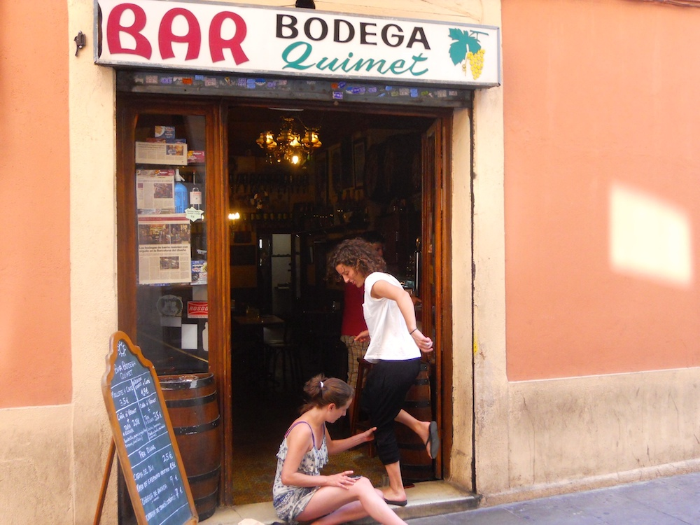 Bar Bodega Quimet in Gràcia, Barcelona by Bill Sinclair