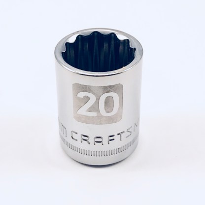 "Craftsman socket 1/2"" drive 20mm 12 Point"