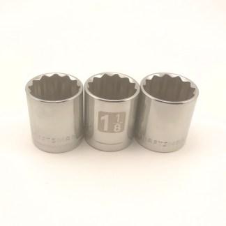 Craftsman 1/2in dr 12pt std sockets
