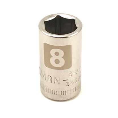 Craftsman 1/4 dr 6 pt 8mm socket