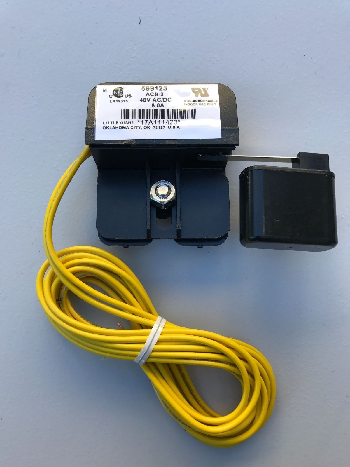 safety overflow float switch Little Giant Safety